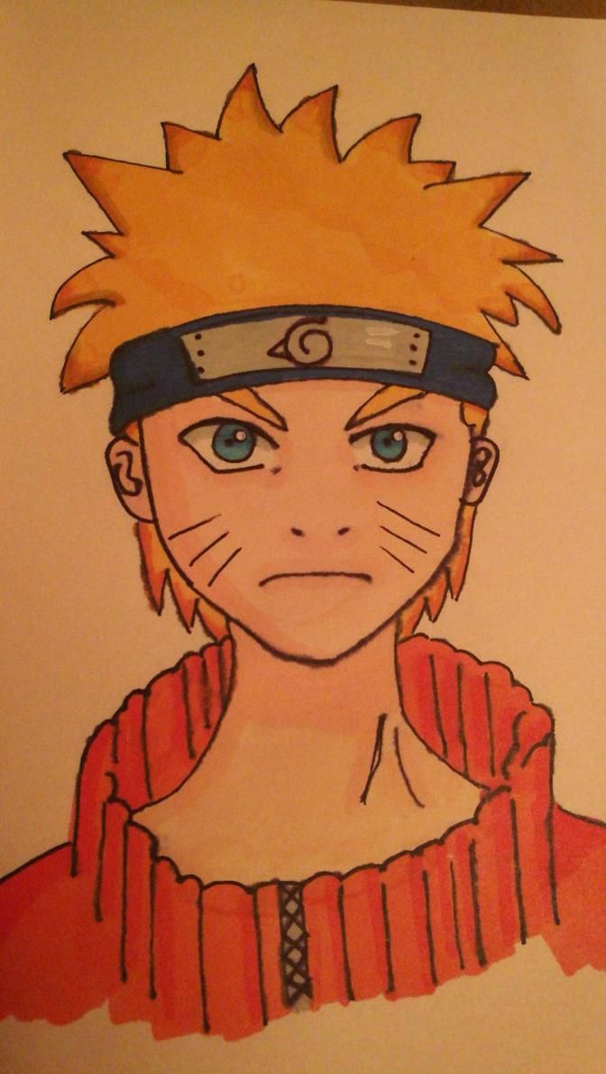 Day 1. Naruto Fan Art by Ayrael