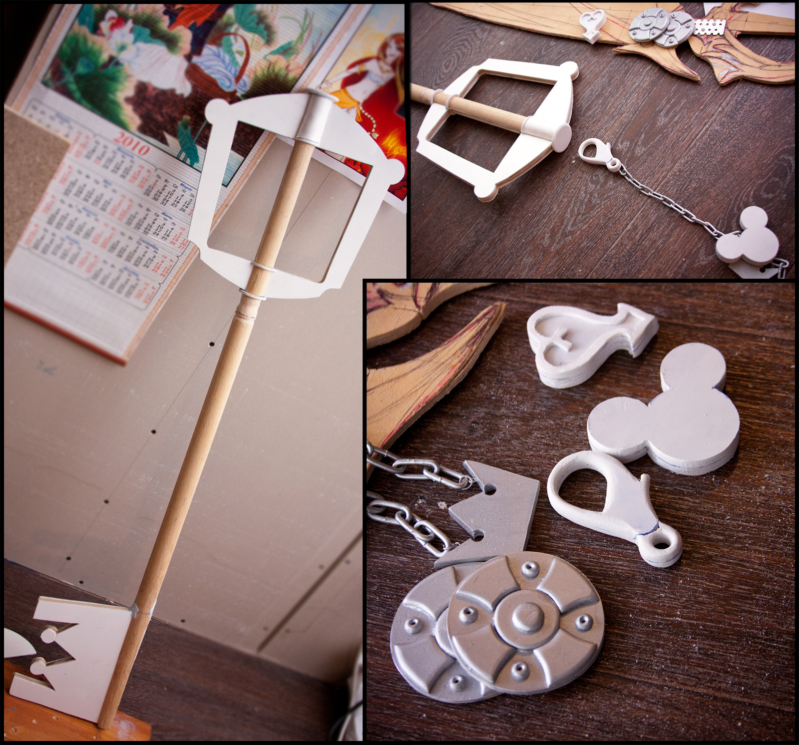 Kingdom hearts - Sora Keyblade 1 by RubeeAmadare