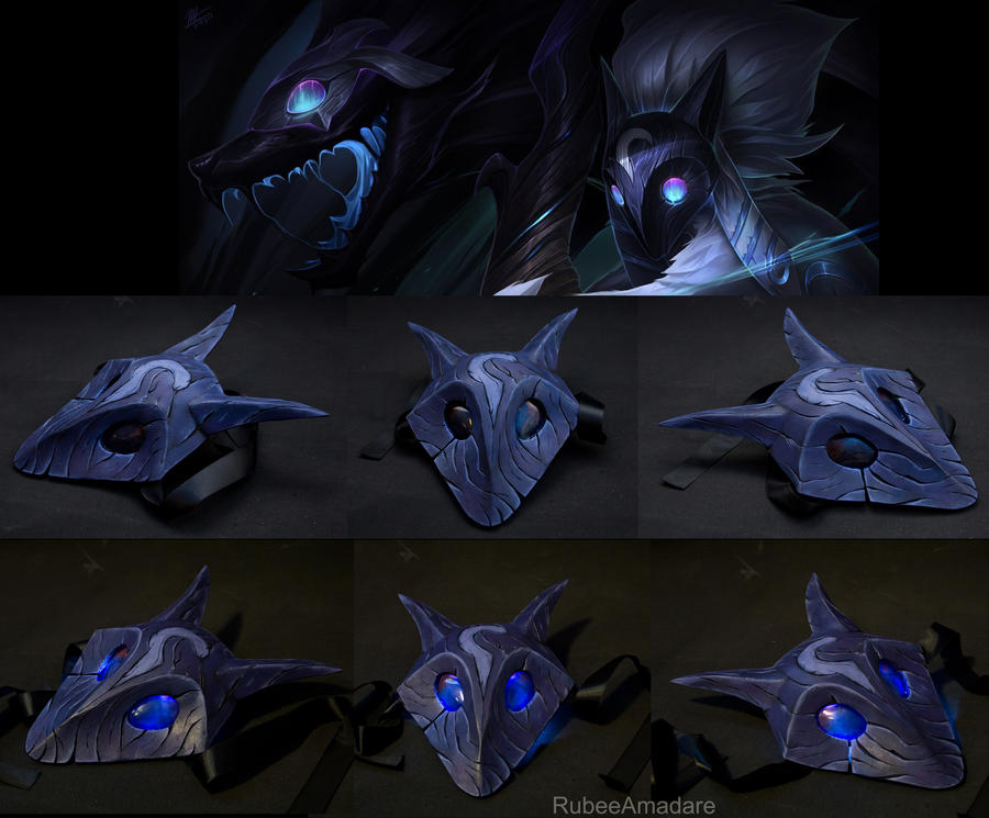 KINDRED - League Of Legends (Lamb's Mask) by RubeeAmadare