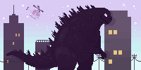 Godzilla by kortero
