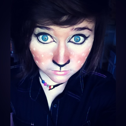 Fawn Makeup by KetchupClawz