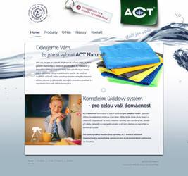 ACT uterky webdesign - home by dan-Es