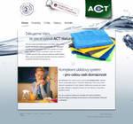 ACT uterky webdesign - home