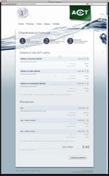 ACT uterky webdesign - Order by dan-Es