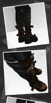 Heavy Assassin Boots by dan-Es