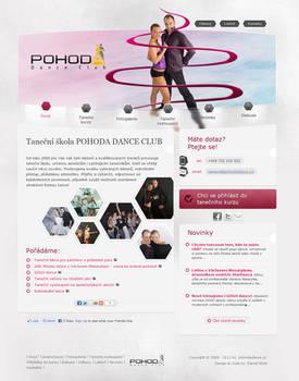 pohodadance.cz webdesign
