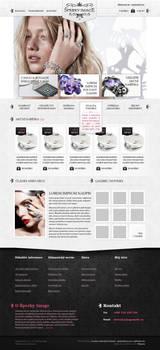 Webdesign for jewelry eshop