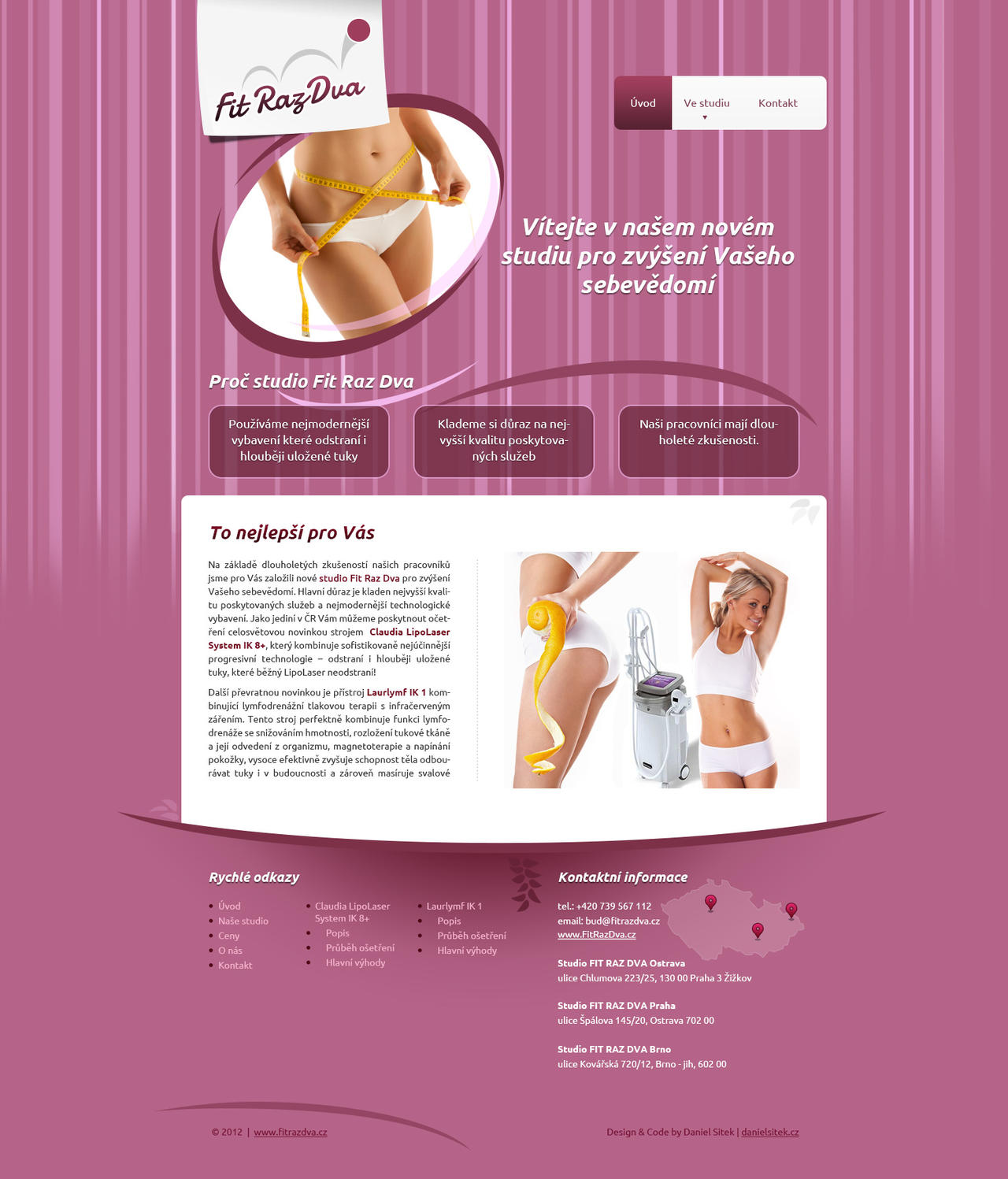 Brand and website for cosmetic studio by dan-Es