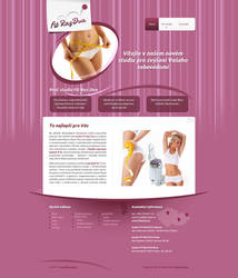 Brand and website for cosmetic studio