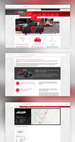 Webdesign for selling company