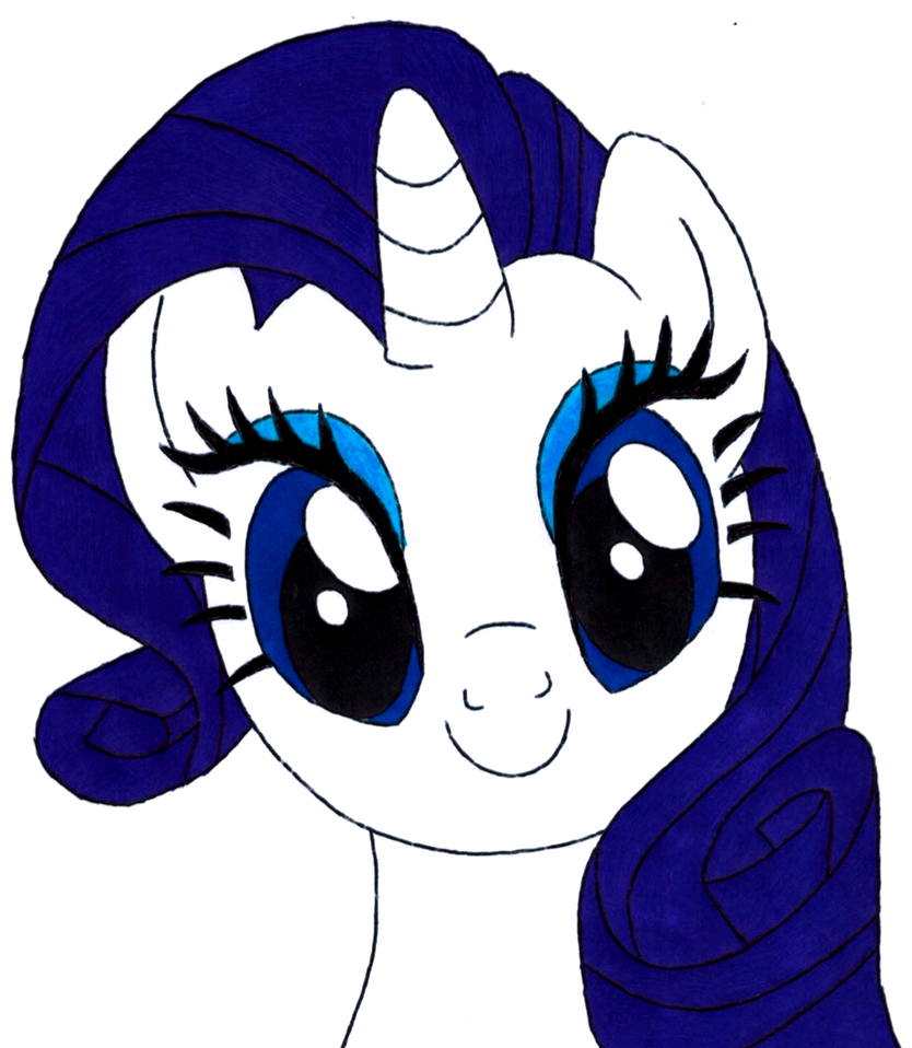 Rarity Lovely Face by Artemisito - 625.4KB