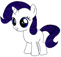 Rarity Filly by Artemisito