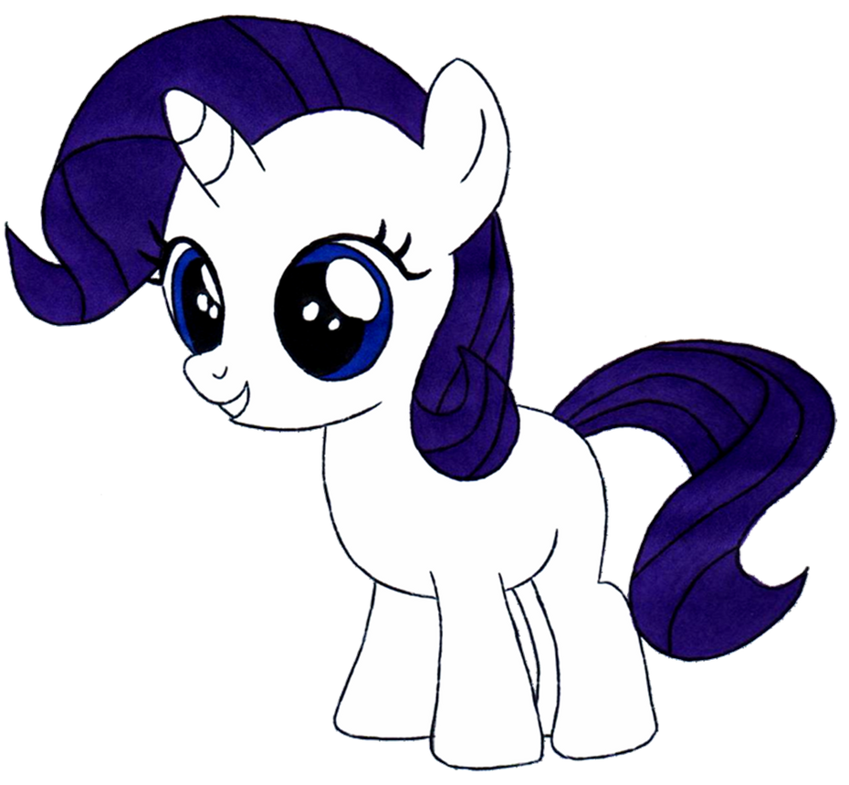 My little pony filly rarity - photo#24