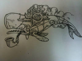 drawing I did for a tattoo by inkslinger42