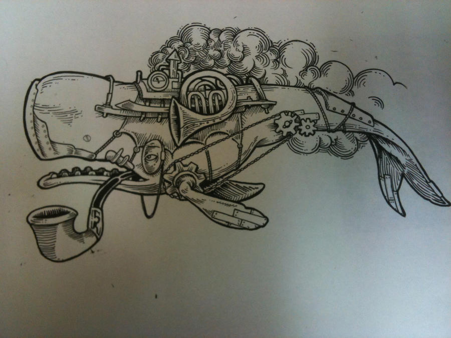 Drawing I Did For A Tattoo By Inkslinger42 On DeviantArt