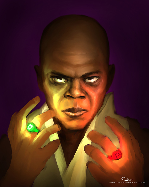 Mace Windu by DarrenGeers