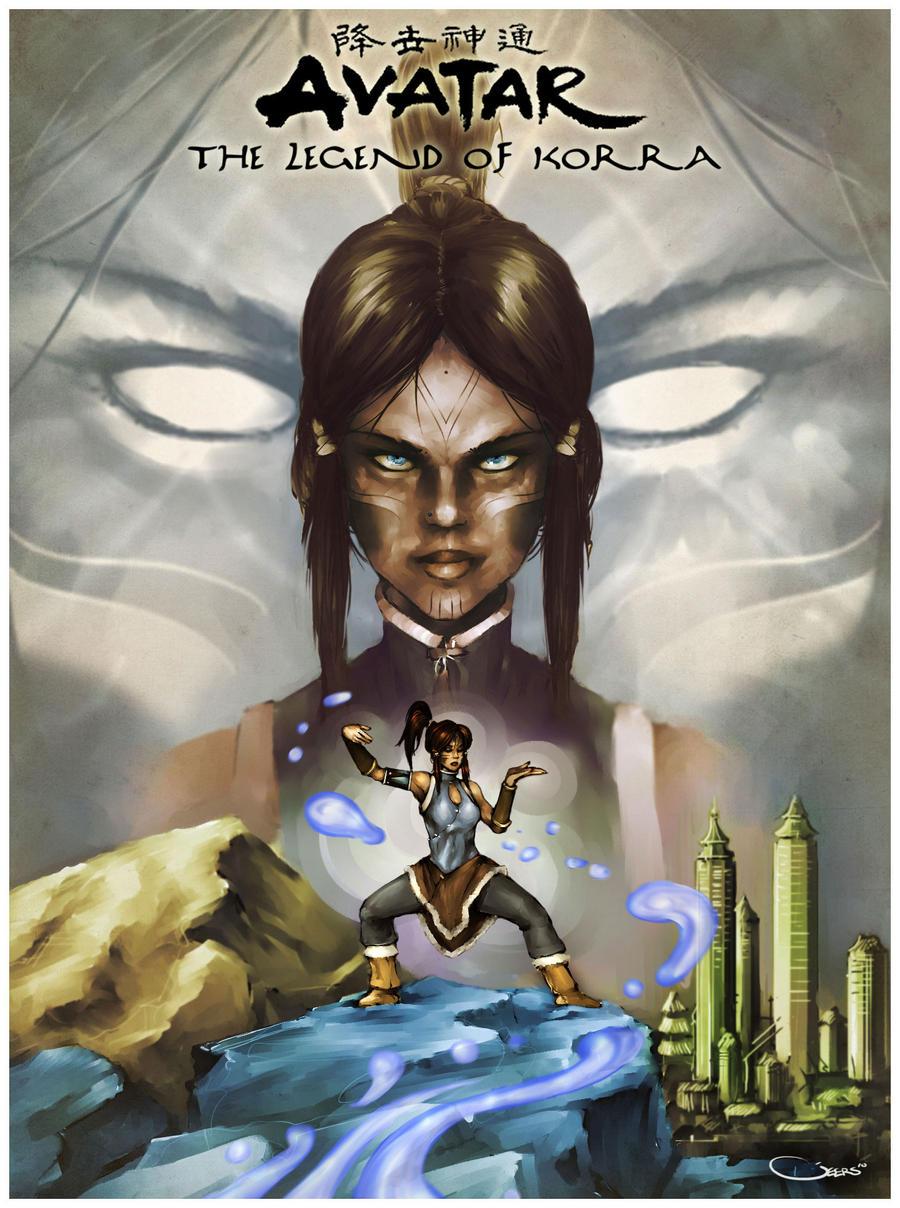 Avatar the legend of korra by darrengeers