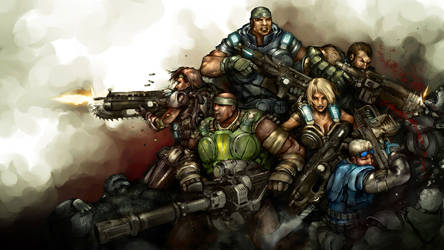Delta Squad by DarrenGeers