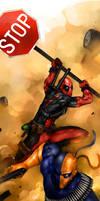Deadpool v Deathstroke