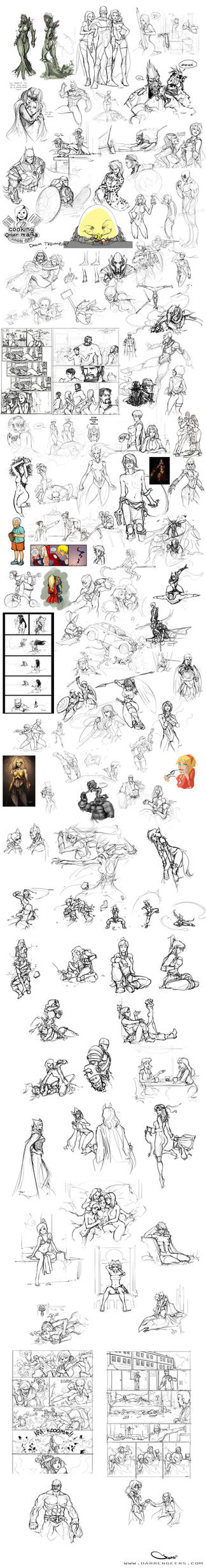 Sketch Compilation (updated) by DarrenGeers