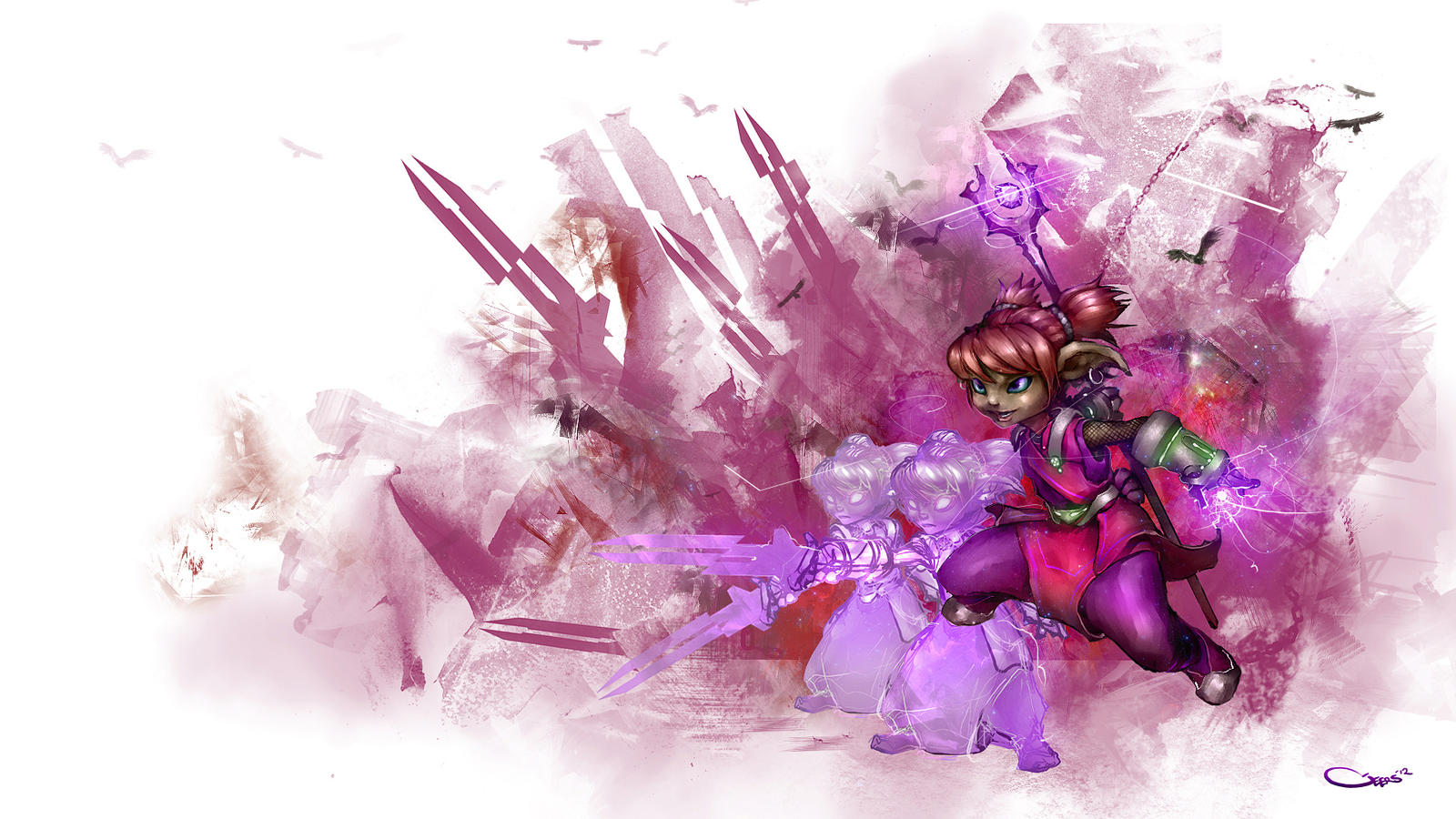 asura mesmer by darrengeers on deviantart