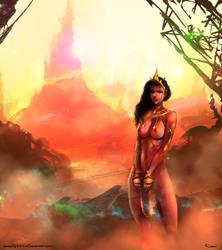 Dejah Thoris, Princess of Mars by DarrenGeers