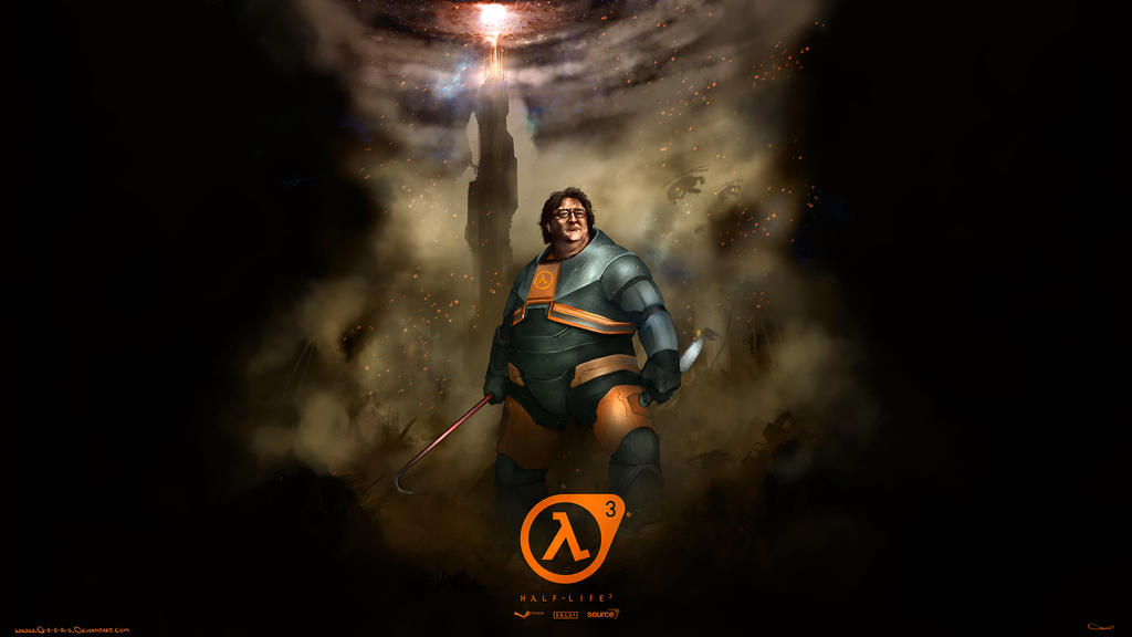 gabe newell wallpaper - photo #1
