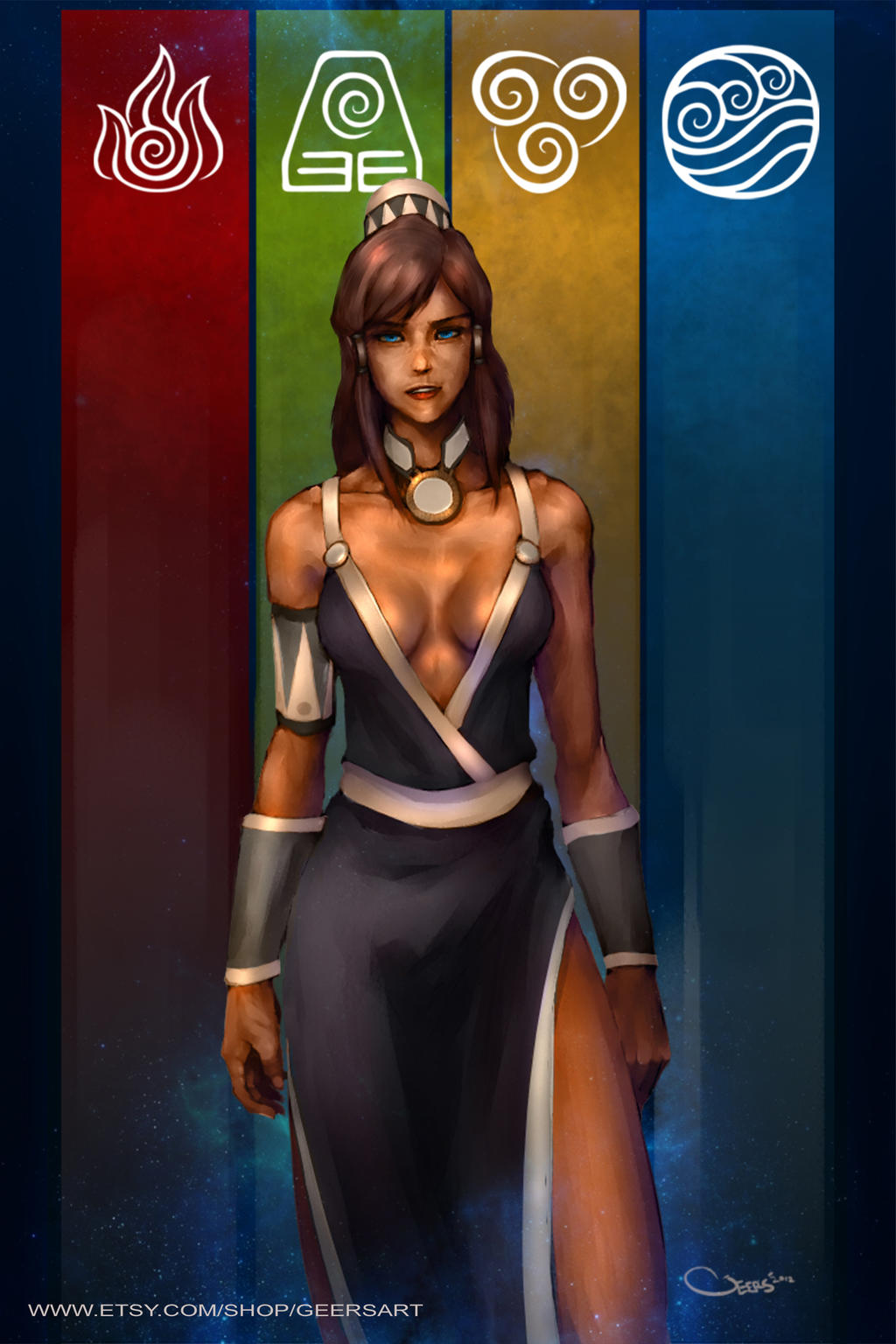The Legend of Korras Dress. by DarrenGeers
