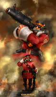 Soldier Team Fortress 2 by DarrenGeers
