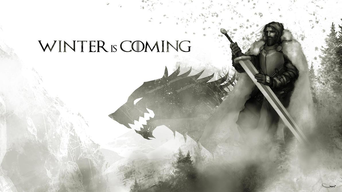 Lord Eddard Stark - A Game of Thrones by DarrenGeers