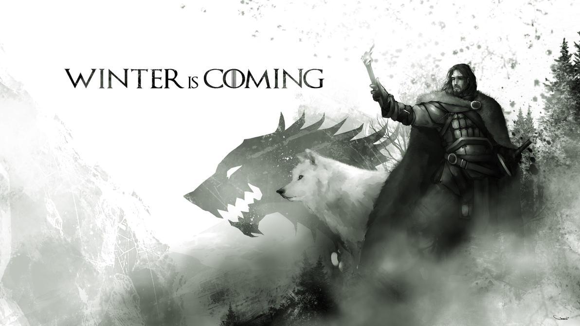 Jon Snow And Ghost
