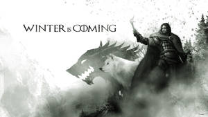 Jon Snow and Ghost - A Game of Thrones