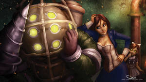 Bioshock mashup by Darren Geers (video below) by DarrenGeers