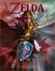 The Legend of Zelda, super edgy and dark by DarrenGeers