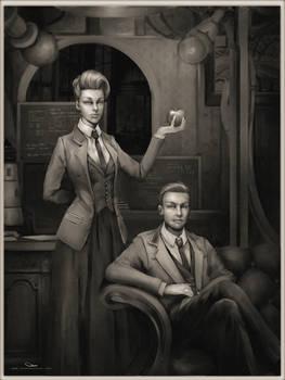 Rosalind and Robert Lutece