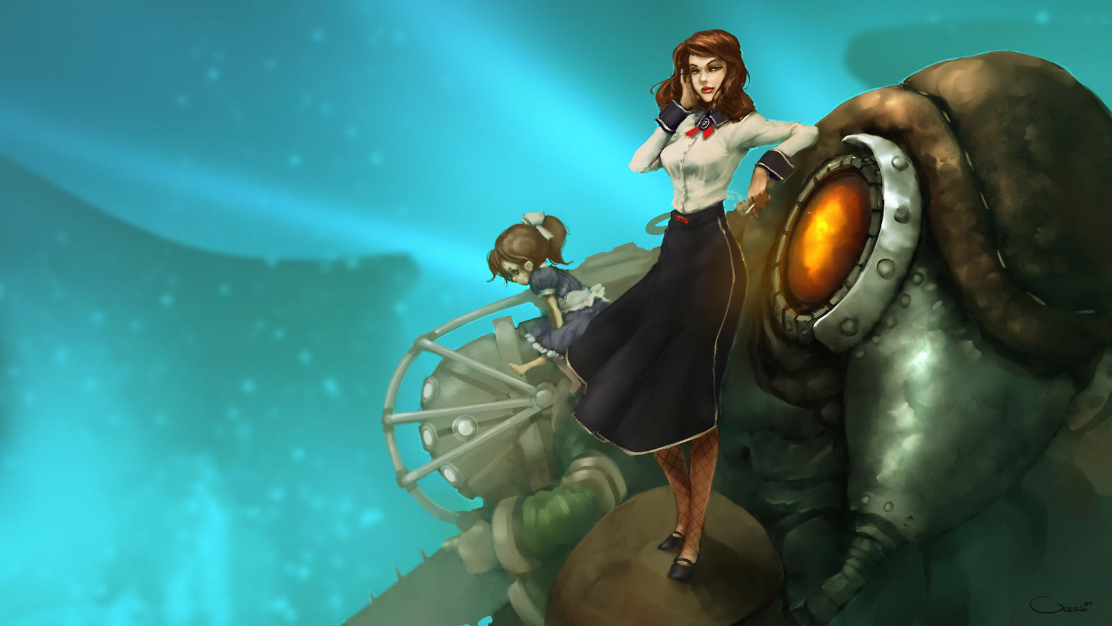 Bioshock Infinite Burial at Sea Wallpaper by DarrenGeers
