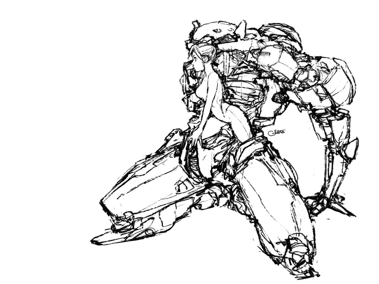how to draw samus aran