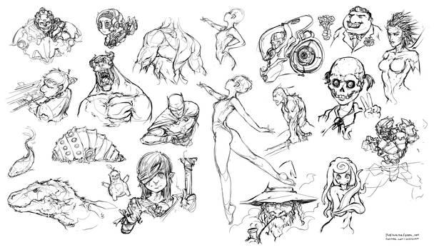 Stress sketching