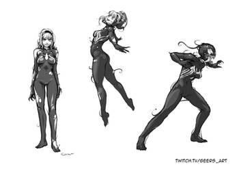 Gwenom Sketches
