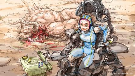 Fallout stream art