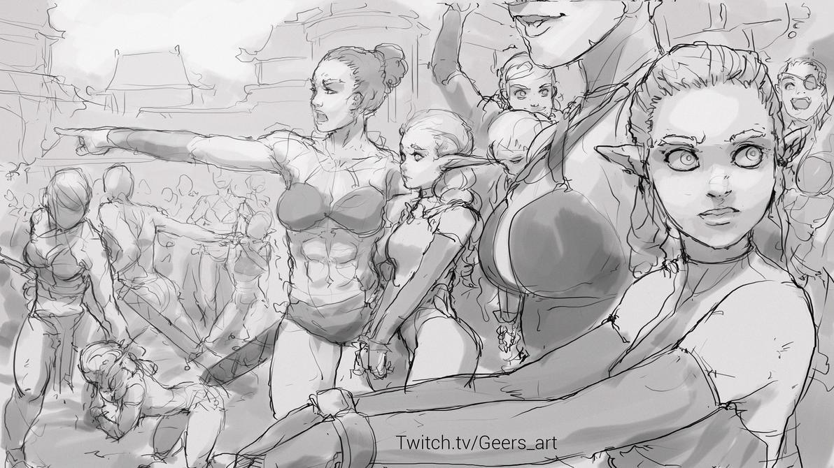 Slave elf nude clip