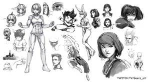 Stream sketching 3