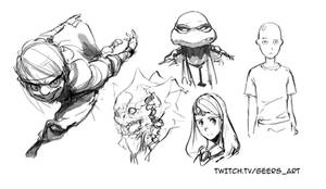 Stream Sketch 8