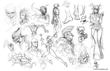 Stream sketch 13