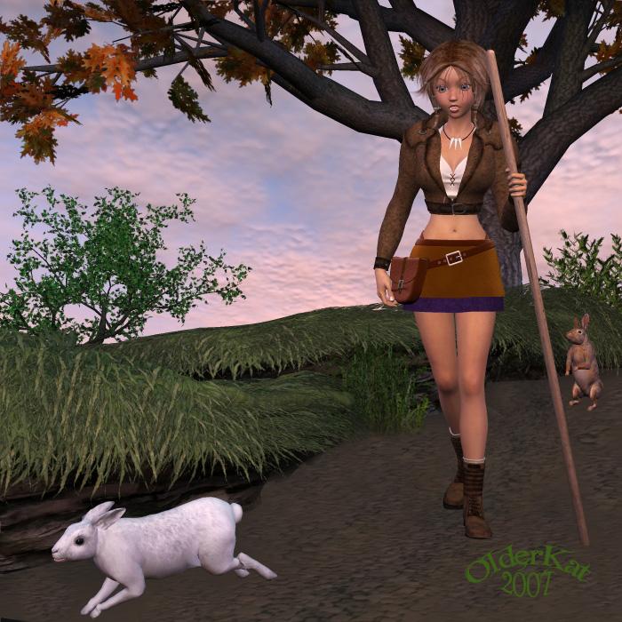 Follow the White Rabbit by black-Kat-3D-studio on DeviantArt