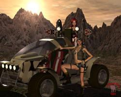 Mad Max.. by black-Kat-3D-studio