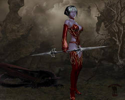 Dark Elf by black-Kat-3D-studio