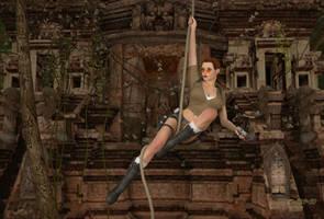 Lara Croft Temple Re-visited by black-Kat-3D-studio