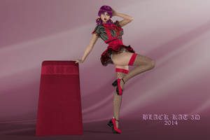 Marika's outfit from the past.. by black-Kat-3D-studio