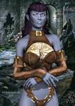Xandra - Dark Elf (Drow)